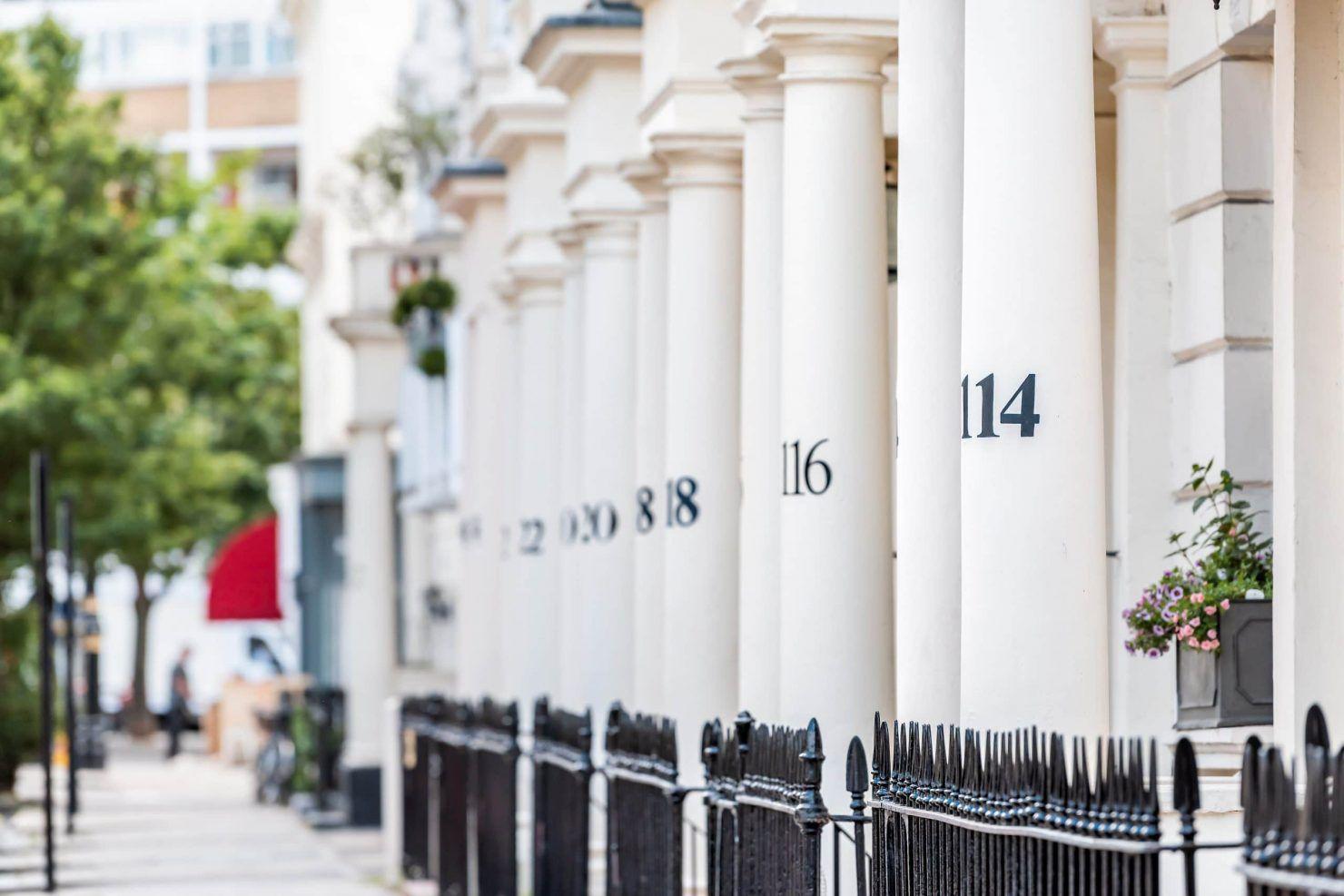 London neighborhood district of Pimlico