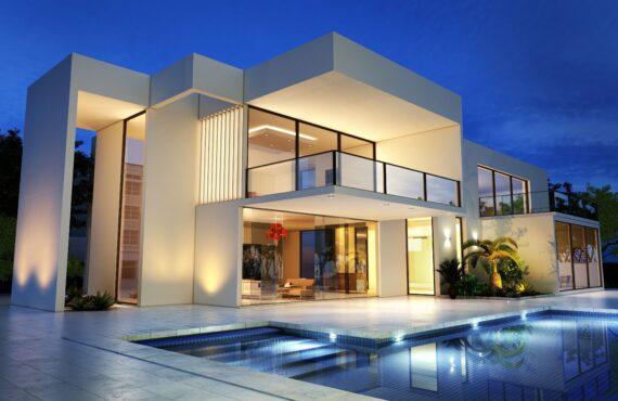 Million-pound mortgage